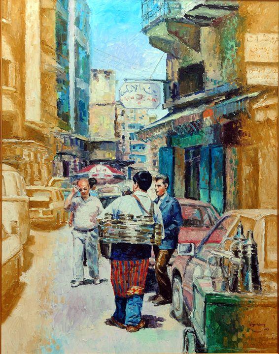 Vendor of Liquorice - Roger El Khoury