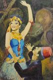 oil on canvas 90x60cm