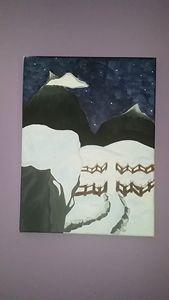 Snowy Distance
