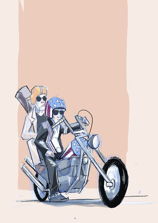 Easy Rider - NERDROARING