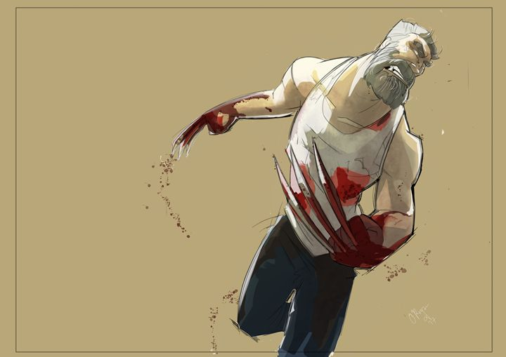Old Man Logan - NERDROARING
