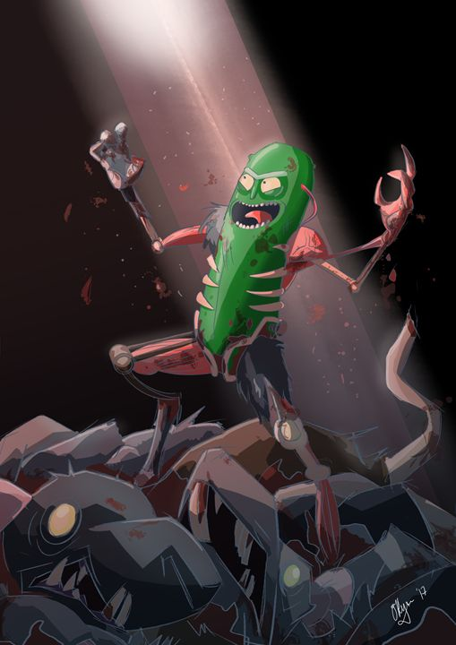 PICKLE RICK - NERDROARING