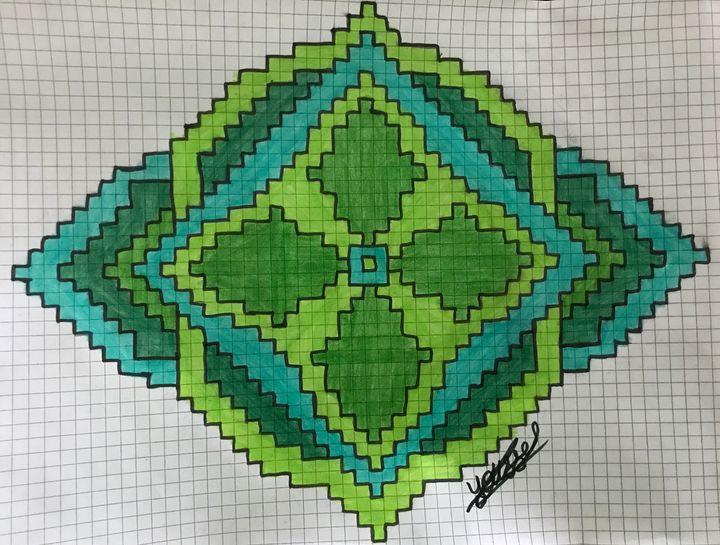 Pixel drawing - Youssef Art