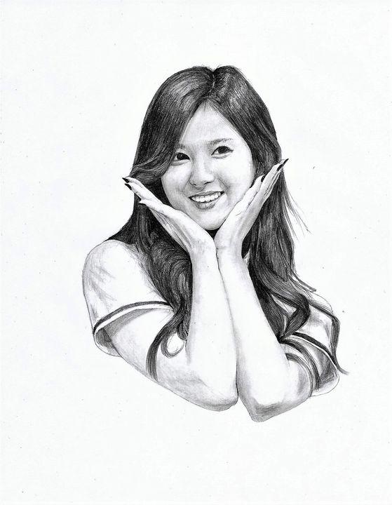 Twice Sana - kpop fanarts
