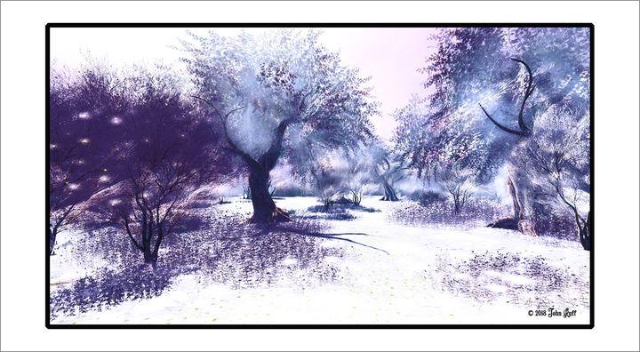 """Winter Forest"" by John Ruff - Charismatic Megafauna Studios"