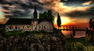 """Church"" by John Ruff"