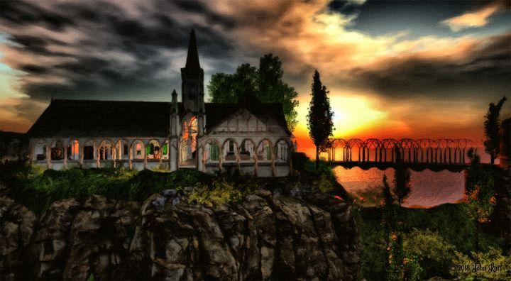 """Church"" by John Ruff - Charismatic Megafauna Studios"