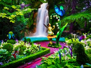 """Fairy Garden"" by John Ruff"