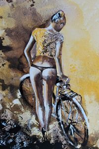 Just me with my bike - Le Aly di Lia di Donatella Marraoni