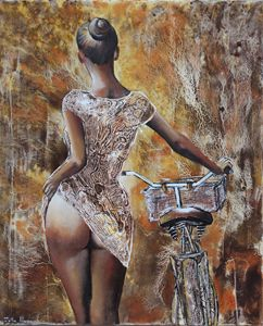 same woman...same bike - Le Aly di Lia di Donatella Marraoni
