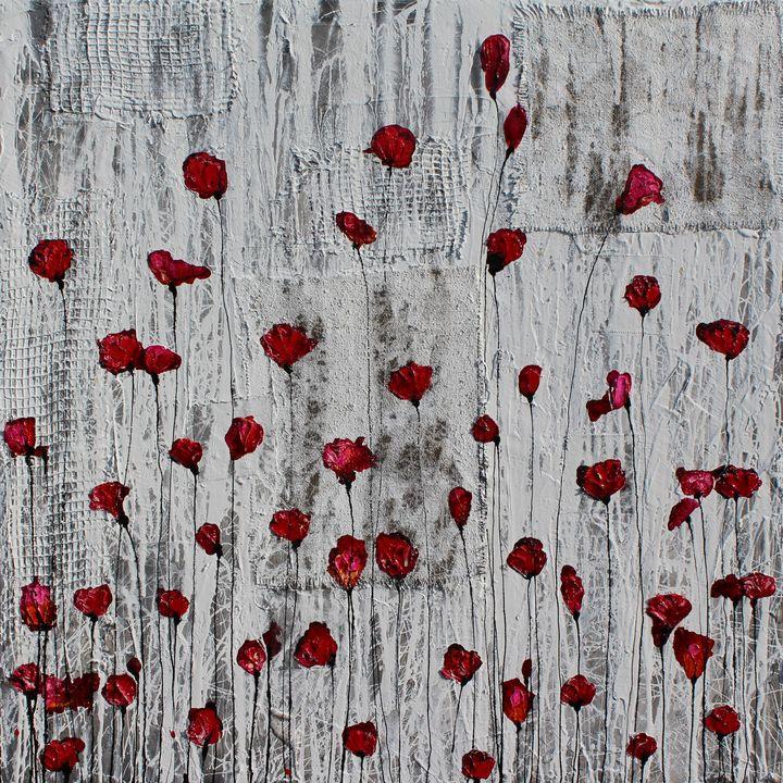 poppies...battiti di cuore - Le Aly di Lia di Donatella Marraoni