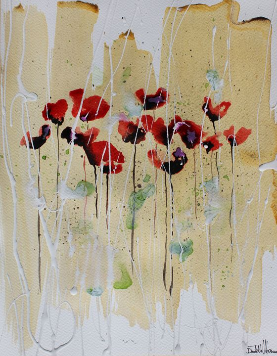 Poppies X - Le Aly di Lia di Donatella Marraoni
