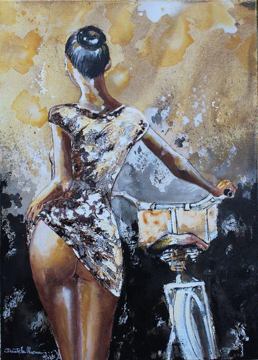 Another woman..another bike II - Le Aly di Lia di Donatella Marraoni