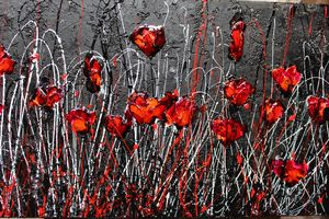 poppies by night - Le Aly di Lia di Donatella Marraoni