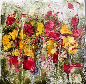 poppies and yellow - Le Aly di Lia di Donatella Marraoni