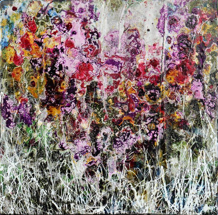 purple and poppies - Le Aly di Lia di Donatella Marraoni