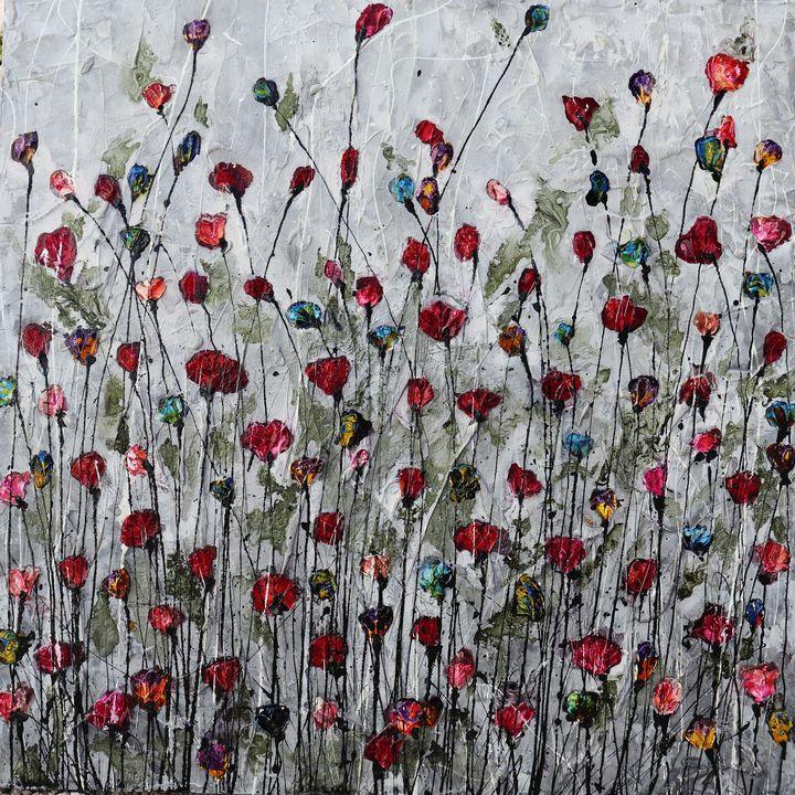poppies memories and love - Le Aly di Lia di Donatella Marraoni