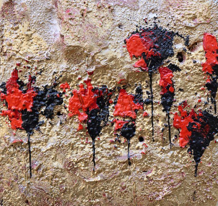 poppies gold - Le Aly di Lia di Donatella Marraoni