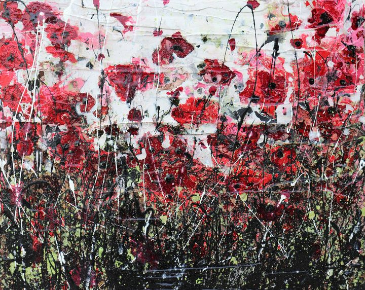 black poppies and love - Le Aly di Lia di Donatella Marraoni