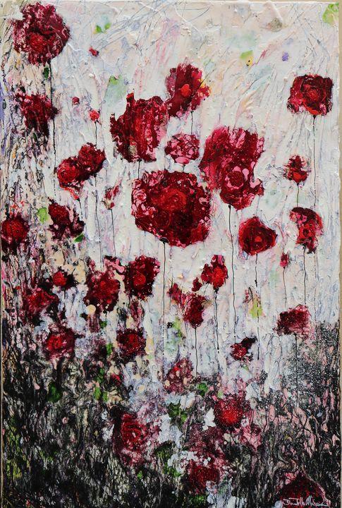 poppies in love - Le Aly di Lia di Donatella Marraoni