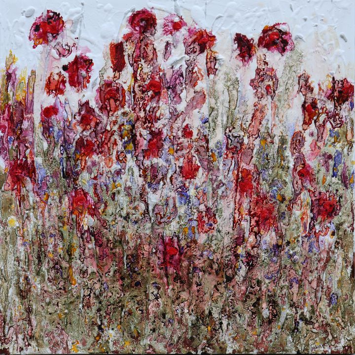 poppies in th sky - Le Aly di Lia di Donatella Marraoni