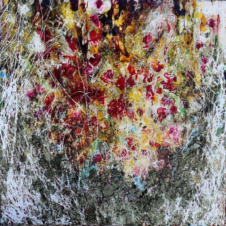 poppies yellow - Le Aly di Lia di Donatella Marraoni