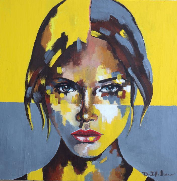 Portrait XIV - Le Aly di Lia di Donatella Marraoni