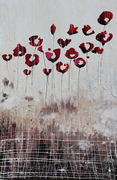 Love Poppies and memories - Le Aly di Lia di Donatella Marraoni