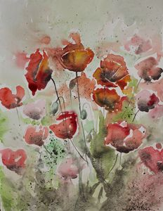 Poppies XI - Le Aly di Lia di Donatella Marraoni