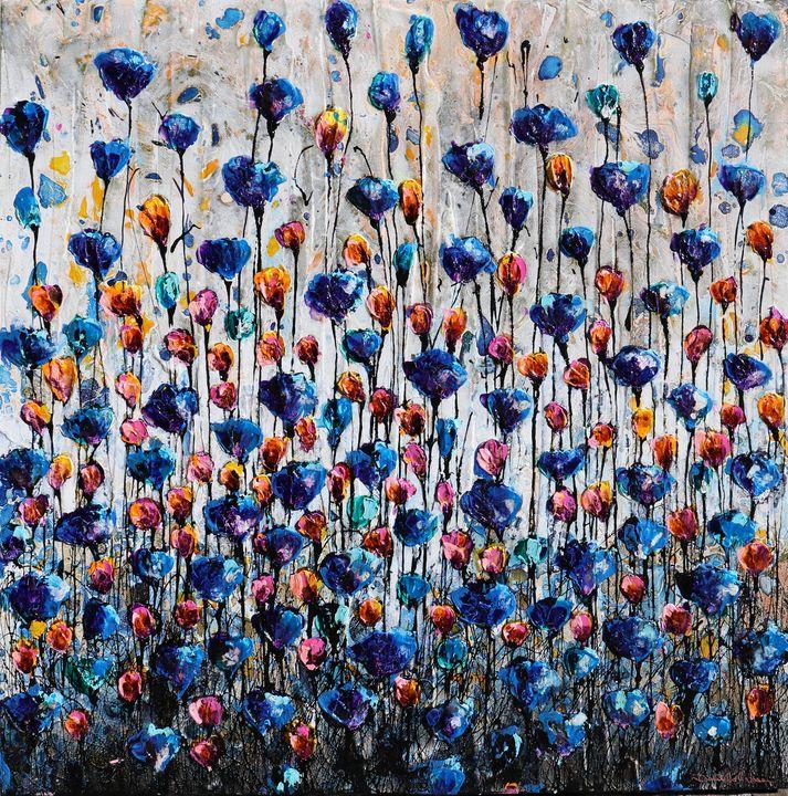 poppies and friends III - Le Aly di Lia di Donatella Marraoni