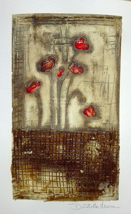 Poppies & Coffee II - Le Aly di Lia di Donatella Marraoni