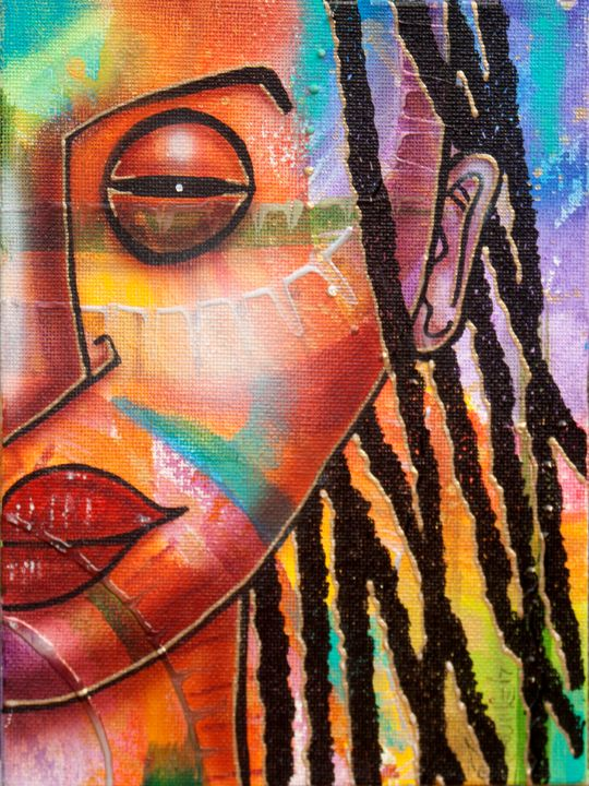 Colourful Girl - Fred Odle