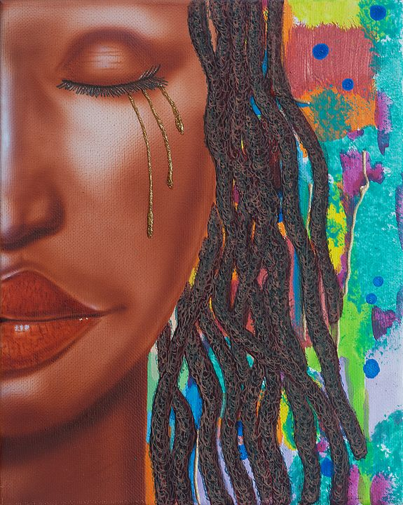 Thandie with Tears - Fred Odle