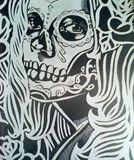 8x10 scratch art