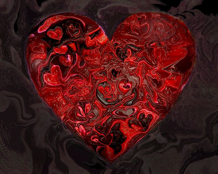 Heart #8 - Larry Singer Fine Art Photography
