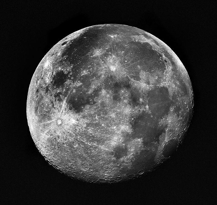 Moon #2 - Larry Singer Fine Art Photography