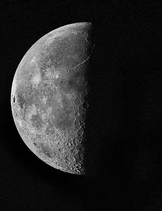 Moon #1 - Larry Singer Fine Art Photography