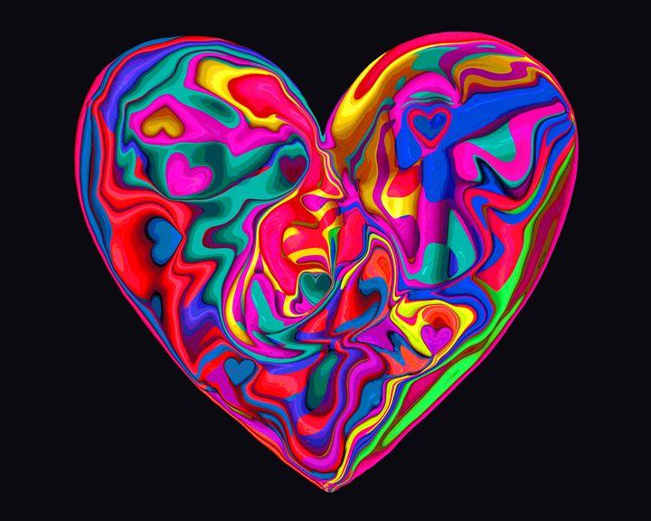 Heart #19 - Larry Singer Fine Art Photography