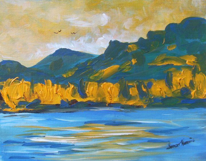OK Autumn - Heaven Touching Earth Art by Susan Harris