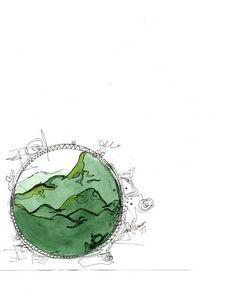 The Green Shenandoah Mountains