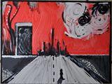 12x16 acrylic on canvas-board