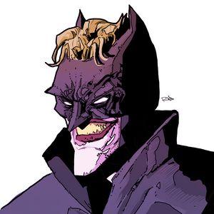 Joker as batman