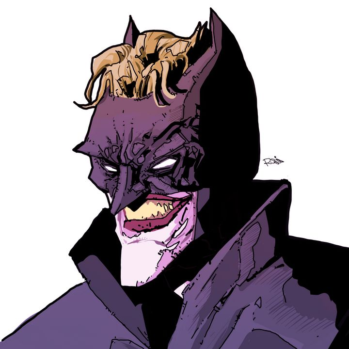 Joker as batman - Raza Shahid