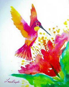 Pink Hummingbird