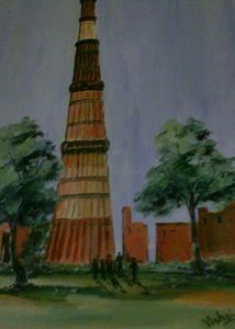 Qutub Minar New Delhi (India)