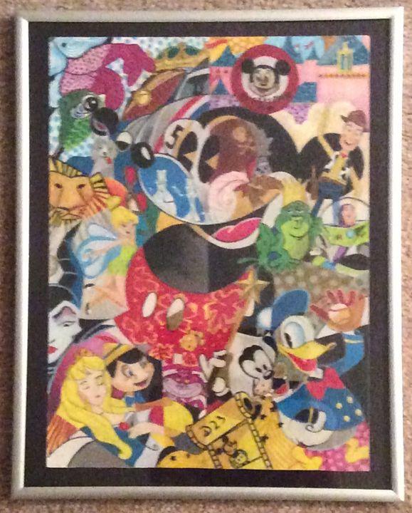 The World of Disney (Replica) - Waldorf Arts & Design