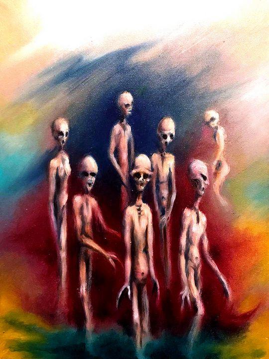Divine Covacc post on Ipsos Mori - Gary Mcmullan Art