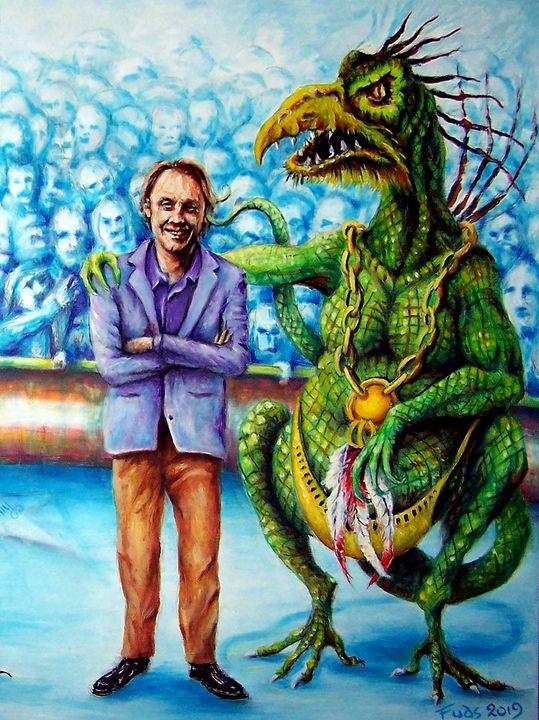 Amun Ra - Gary Mcmullan Art