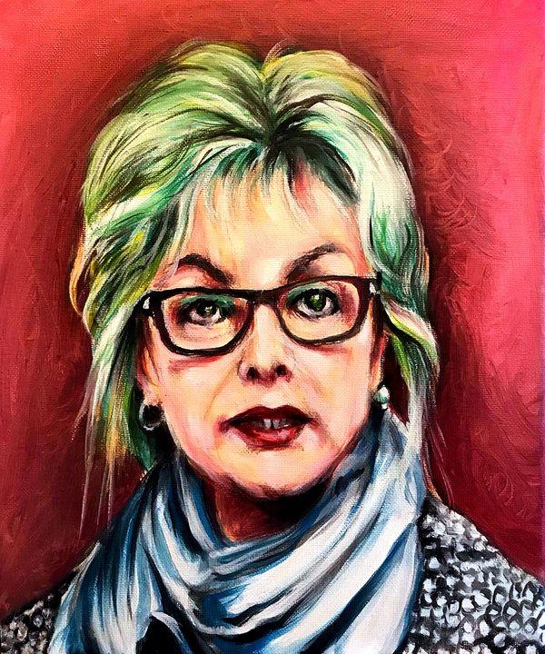 Deborah Tavares (Heroine) - Gary Mcmullan Art