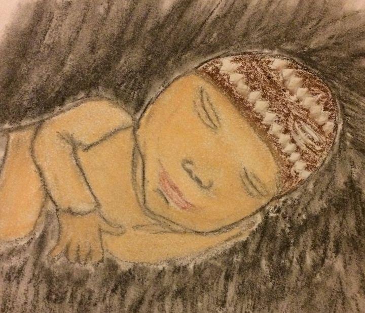 Sleeping baby - Joyce Boley